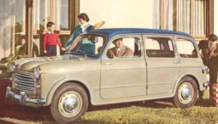 1953 - 1956 Fiat 1100 Station Wagon