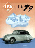 IFA F9 Advertising Poster
