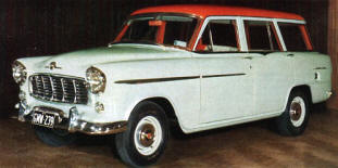 1957 - 1959 Holden Special Station Wagon