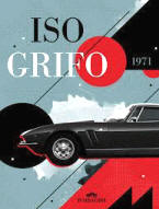 Iso Grifo Advertising Poster