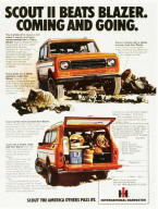International Scout Advertising Poster