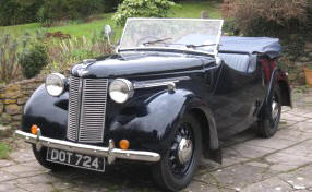 Austin Eight Tourer  1939 - 44