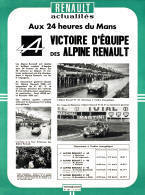 Old Alpine Renault Ad