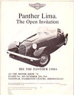 Panther Lime Advertisement