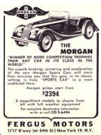 Morgan Car Advertisement
