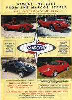 Marcos Cars Advertising Poster