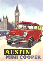 Austin Mini Cooper Advertisement