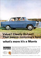 BMC Morris Oxford Advertisement