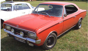 1967 - 1971 Opel Rekord Sprint Coupe