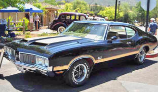 1970 Oldsmobile F85 442 Holiday Coupe
