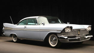 1959 Plymouth Fury Hardtop Coupe