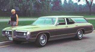 1969 Pontiac Executive Safari