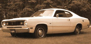 1970 Plymouth Valiant Duster Fastback Coupe