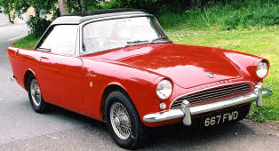 1960 - 1963 Sunbeam Alpine Series II