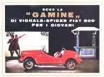 Vignale Gamine Advertising Poster