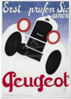 Peugeot Poster