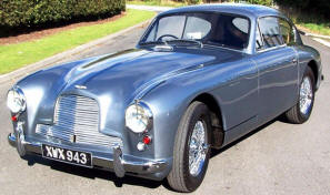 Aston Martin DB2-4 MkI Coupe  1953 - 54