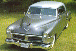 1952 Chrysler New Yorker Newport Coupe
