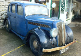1937 - 1939 Singer Twelve Saloon